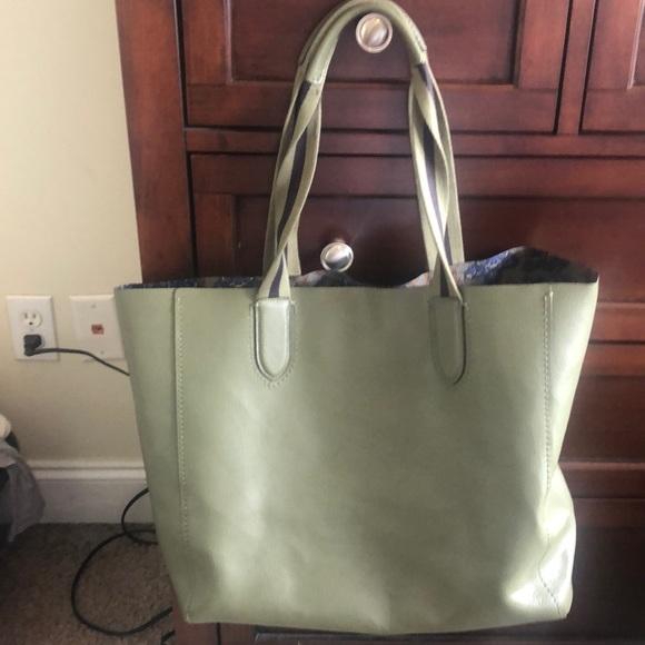 Coach Handbags - Hunter Green Coach Tote Bag